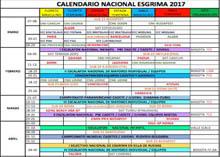 Calendario Federativo 2017